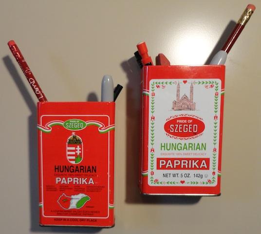 Szeged Tins Repurposed