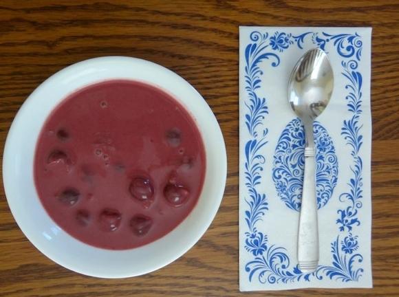 Hannah's Delicious Sour Cherry Soup