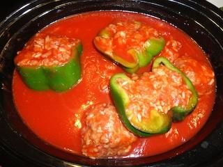 Toltott Zoldpaprika ~ Stuffed Green Peppers