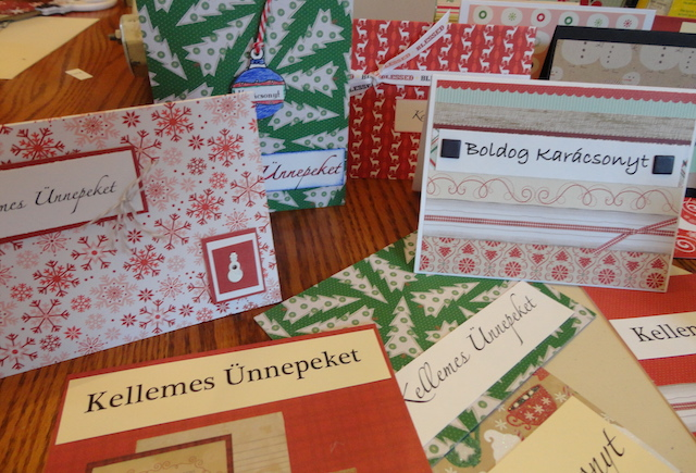 Christmas Cards with a Magyar Touch