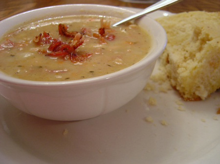 Ham and Bean Soup – Csulkos Bableves