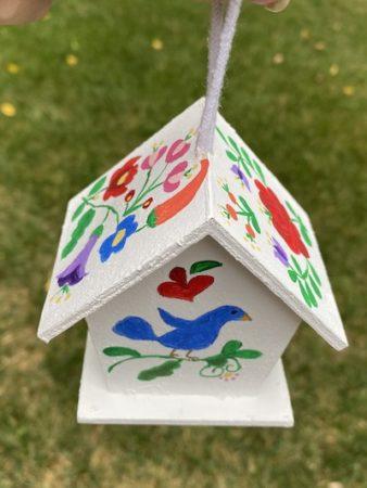 Hungarian Folk Art Birdhouse